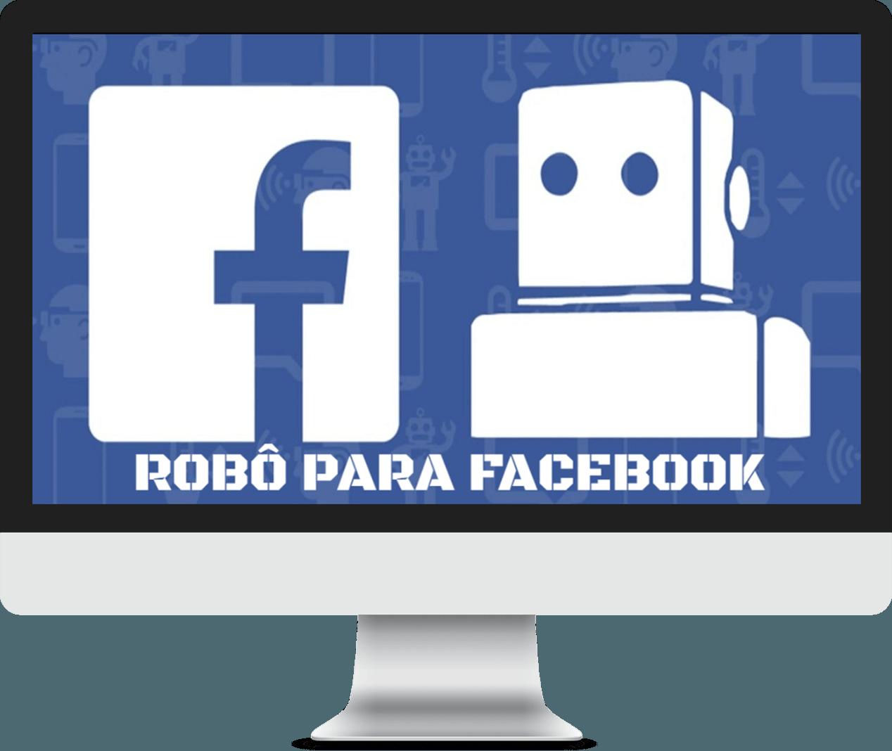 ROBO PARA FACEBOOK CLUBE SUA META